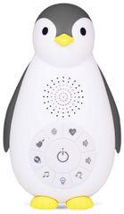 ZAZU Tučniak ZOE Musicbox s bezdrôtovým reproduktorom, Šedý - rozbalené