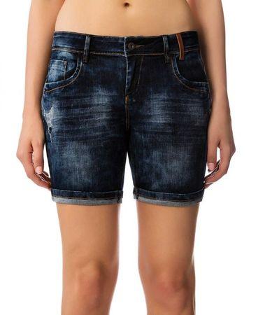 Timeout ženske kratke hlače 28 temno modra
