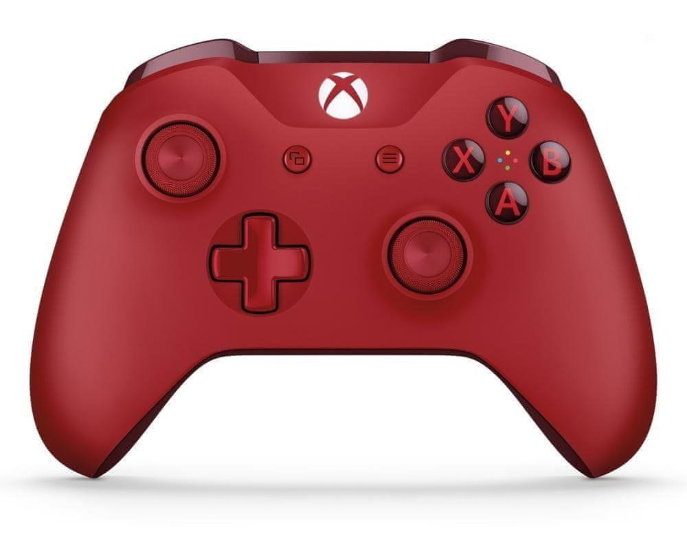 Microsoft Xbox One S Gamepad červený - rozbaleno
