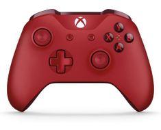 Microsoft Xbox One S Gamepad červený