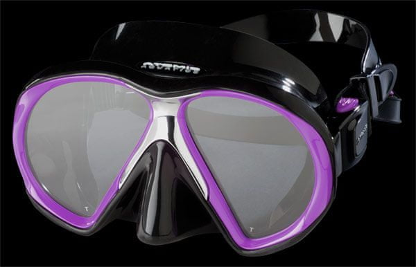 ATOMIC AQUATICS Maska Atomic SUBFRAME, potápěčské brýle, černá/fialová