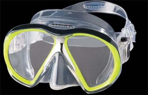 ATOMIC AQUATICS Maska Atomic SUBFRAME, potápěčské brýle, transparentní/žlutá