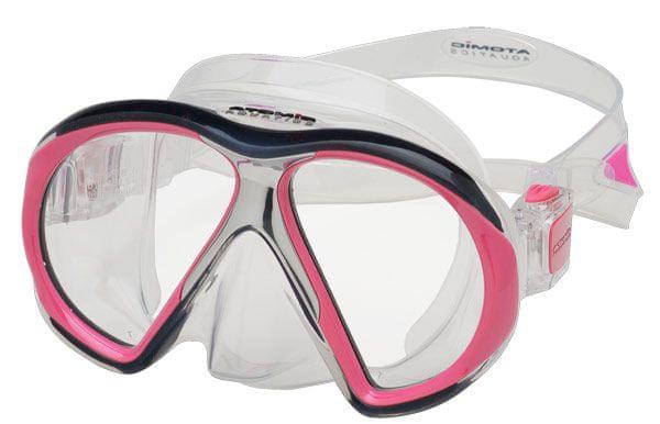 ATOMIC AQUATICS Maska Atomic SUBFRAME, potápěčské brýle, transparentní/růžová