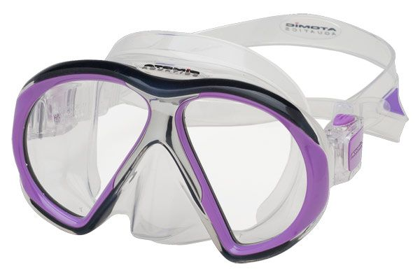 ATOMIC AQUATICS Maska Atomic SUBFRAME, potápěčské brýle, transparentní/fialová