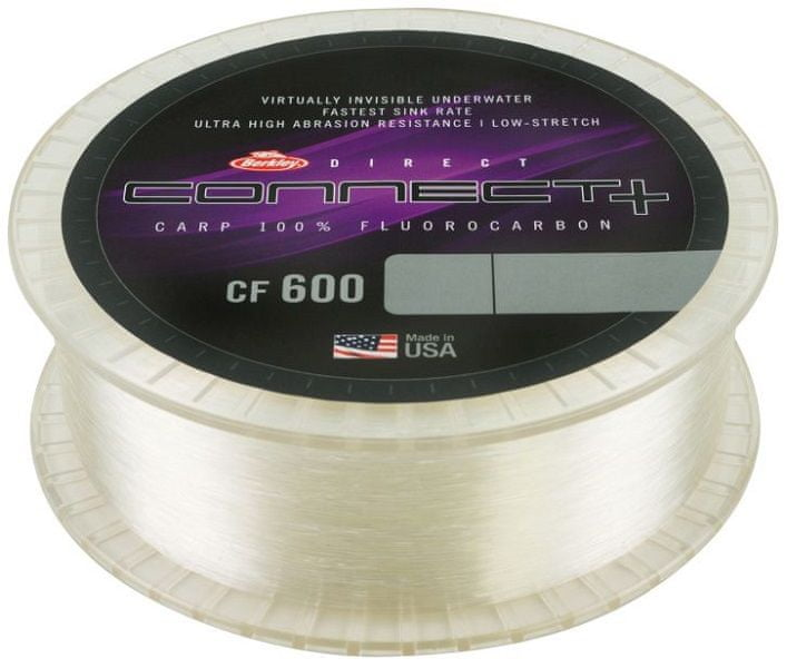 Berkley Vlasec CF600 Fluoro Clear 1200 m 0,45 mm, 15,3 kg
