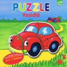 autor neuvedený: Vozidlá – Puzzle