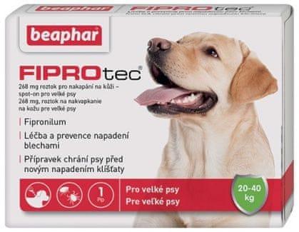 Beaphar Spot on Fiprotec pro psy L 20-40kg