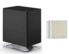 Stadler Form vlažilnik zraka Oskar Little, črn + Darilo: Set filtrov