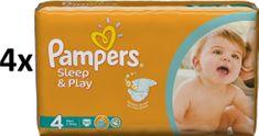 Pampers Pleny Sleep&Play 4 Maxi - 200 ks