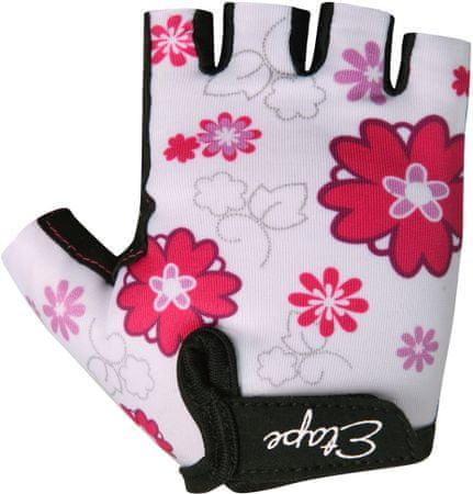 Etape otroške rokavice Tiny, bele, 3-4