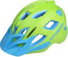 Etape kolesarska čelada Joker, zelena/modra