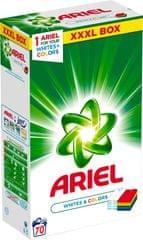 Ariel Prášek White & Color 5,25 kg, 70 praní
