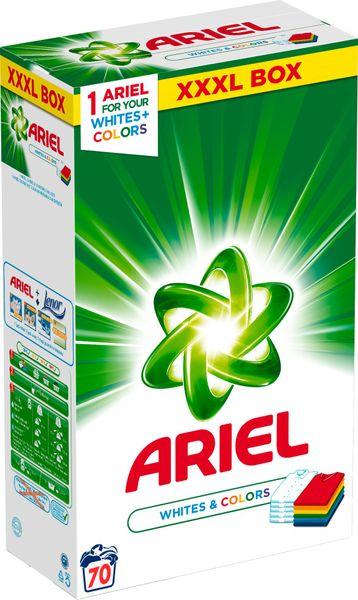Ariel Prášek White & Color 5,25 kg (70 praní)
