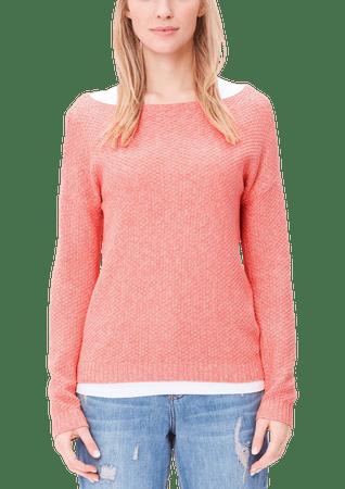 s.Oliver sweter damski 36 różowy