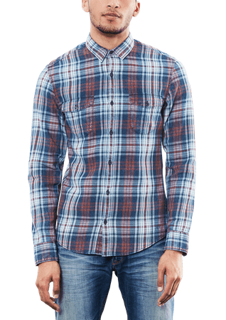 s.Oliver pánská košile XXL tmavo modrá