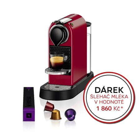 NESPRESSO XN740510 Nespresso Citiz Red Kávéfőző