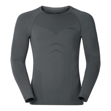 ODLO majica Evolution Warm, moška, srebrno-siva, S