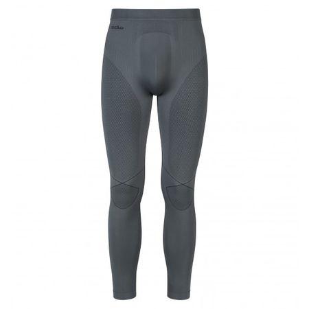 ODLO hlače Evolution Warm, moške, srebrno-sive, XL