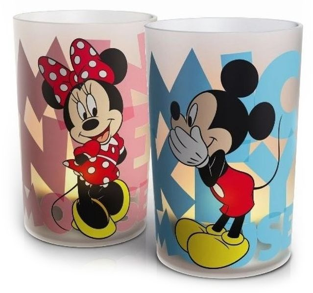 Philips Disney LED Minnie & Mickey CandelLights 71712/55/16