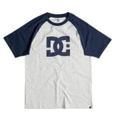 DC moška majica Star Raglan, svetlo siva/modra