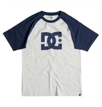 DC moška majica Star Raglan, svetlo siva/modra, L