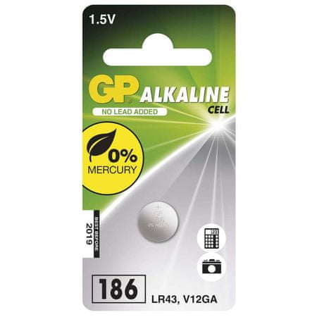 GP baterija 186F, 1 kos