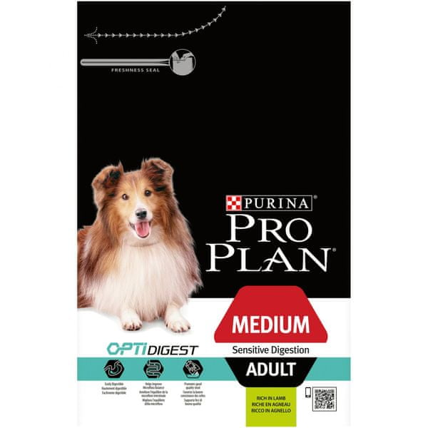 Purina Pro Plan Medium Adult Sensitive Digestion Lamb 3kg