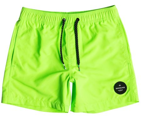 Quiksilver spodenki Everyday solid youth 13 B Green Gecko XS