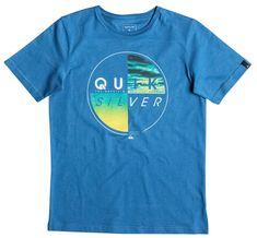 Quiksilver otroška majica SS Classic Tee B, modra