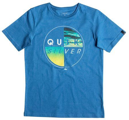 Quiksilver otroška majica SS Classic Tee B, modra, S/10