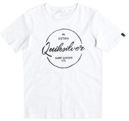 Quiksilver otroška majica SS Classic Tee B, bela, L/14