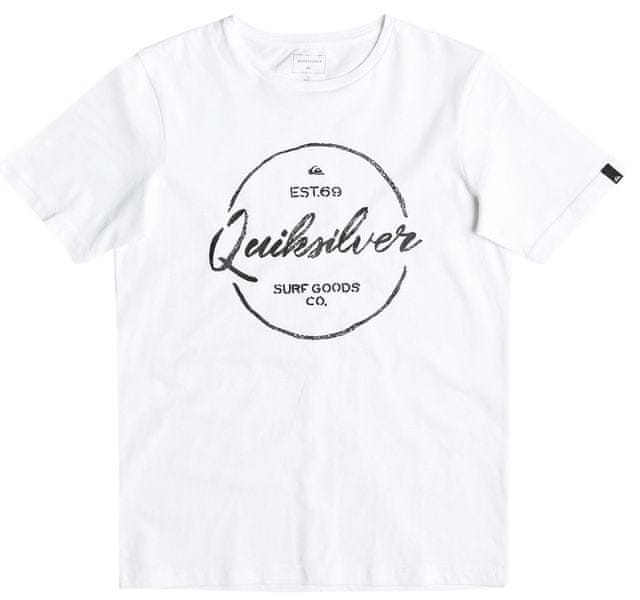 Quiksilver SS Classic Tee B Tees White M/12