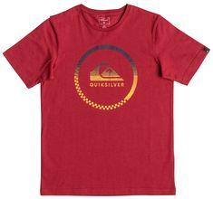 Quiksilver otroška majica SS Classic Tee B, rdeča