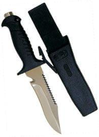 SOPRASSUB Nůž SQUALO 15 MR, Sopras sub, černý