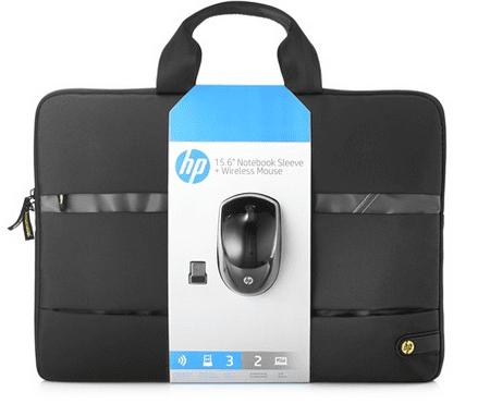 """HP torba za prenosnik do 39,6 cm (15,6"""") in brezžična miška"""