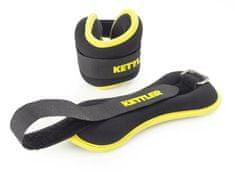 Kettler manšetna utež za roke, 2 x 0.5 kg, rumena