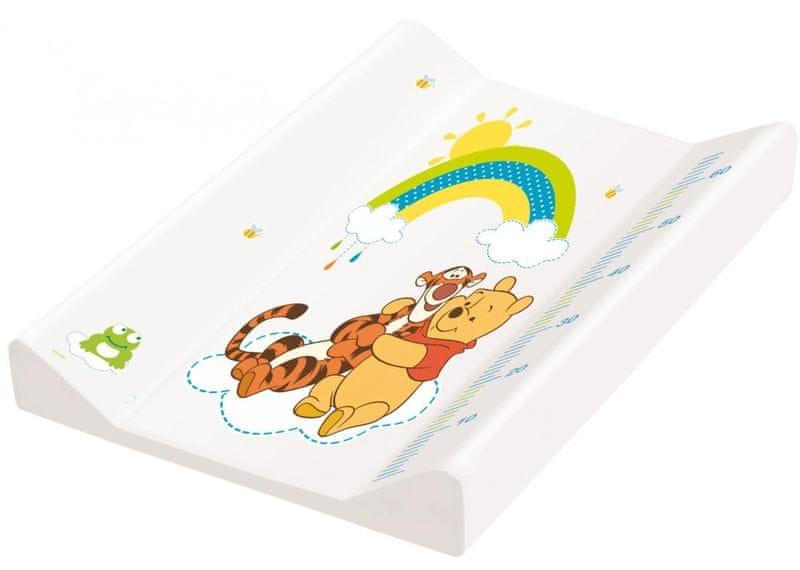 """OKT Podložka s pevnou deskou """"Winnie Pooh"""", bílá"""
