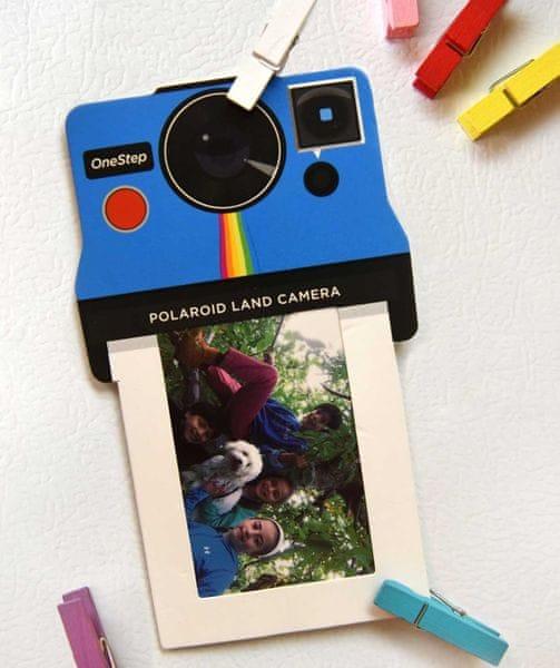 """POLAROID Rámeček na instatní fotografie 2 x 3"""" Colour Mix"""