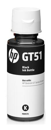 HP črnilo v steklenički GT51, črno