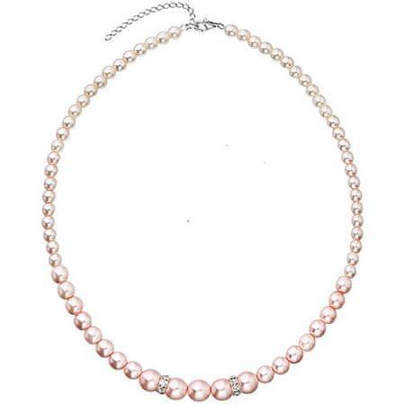 Evolution Group Romantický korálek náhrdelník Rosaline Pearls 32036.3 striebro 925/1000 striebro 925/1000