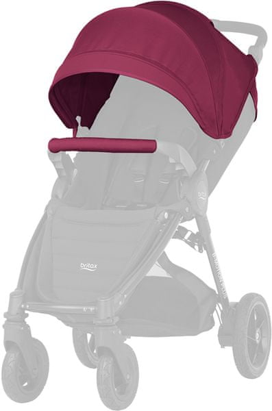 Britax Barevný set ke kočárku B-Agile Plus/B-Motion Plus 2017, Wine Red