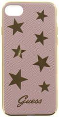 Guess Kryt Stars Soft TPU (Apple iPhone 7), růžová