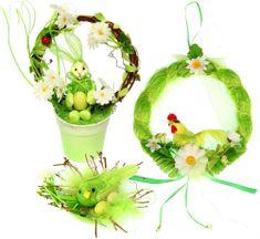 Seizis Húsvéti dekoráció, Zöld