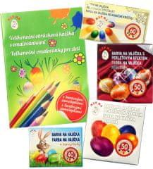 Seizis Set barev na vajíčka + knížka 2