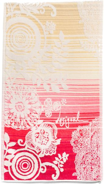 Desigual ručník Essential 50x100 cm