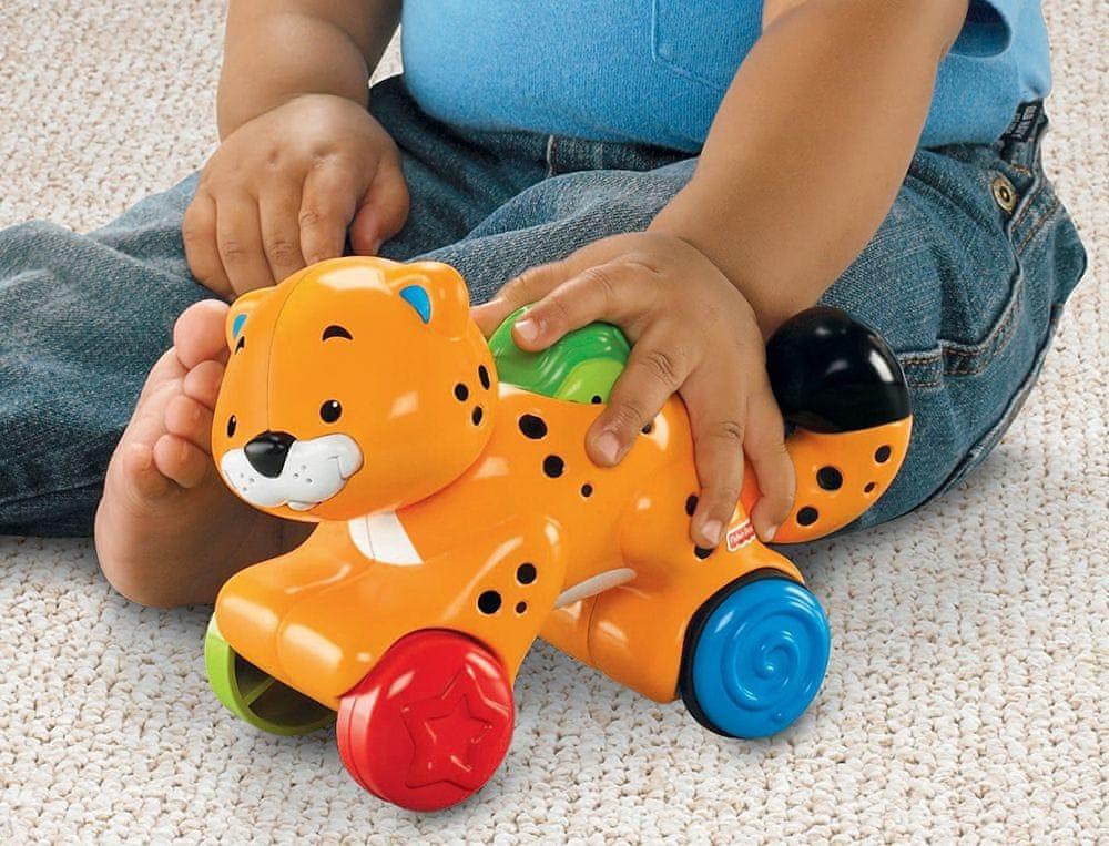 Fisher-Price Jezdící zvířátko gepard