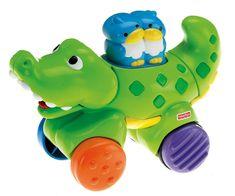 Fisher-Price Jezdící zvířátko krokodýl