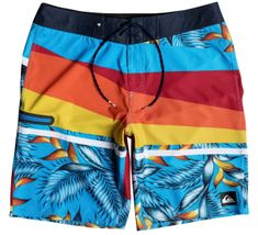 Quiksilver Slash prints vee 18 M Chilli Pepper