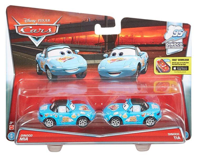 Cars Kolekce auto 2 ks Dinoco