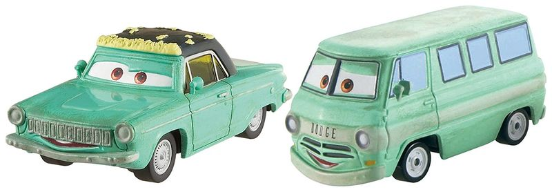Cars Kolekce auto 2 ks Rust-eze